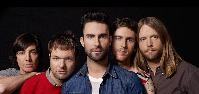 Концерт Maroon 5 в Барселоне