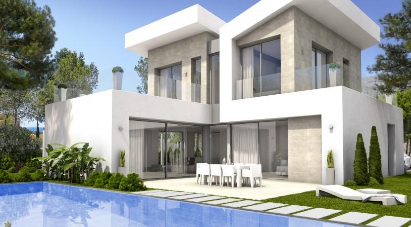 Mitra Sea Views Villas в Finestrat